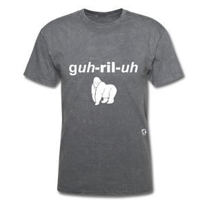 Gorilla T-Shirt - mineral charcoal gray