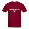 Anonymous T-Shirt - burgundy
