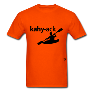 Kayak T-Shirt - orange