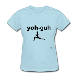 Yoga T-Shirt - powder blue