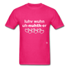 Love One Another T-Shirt - fuchsia