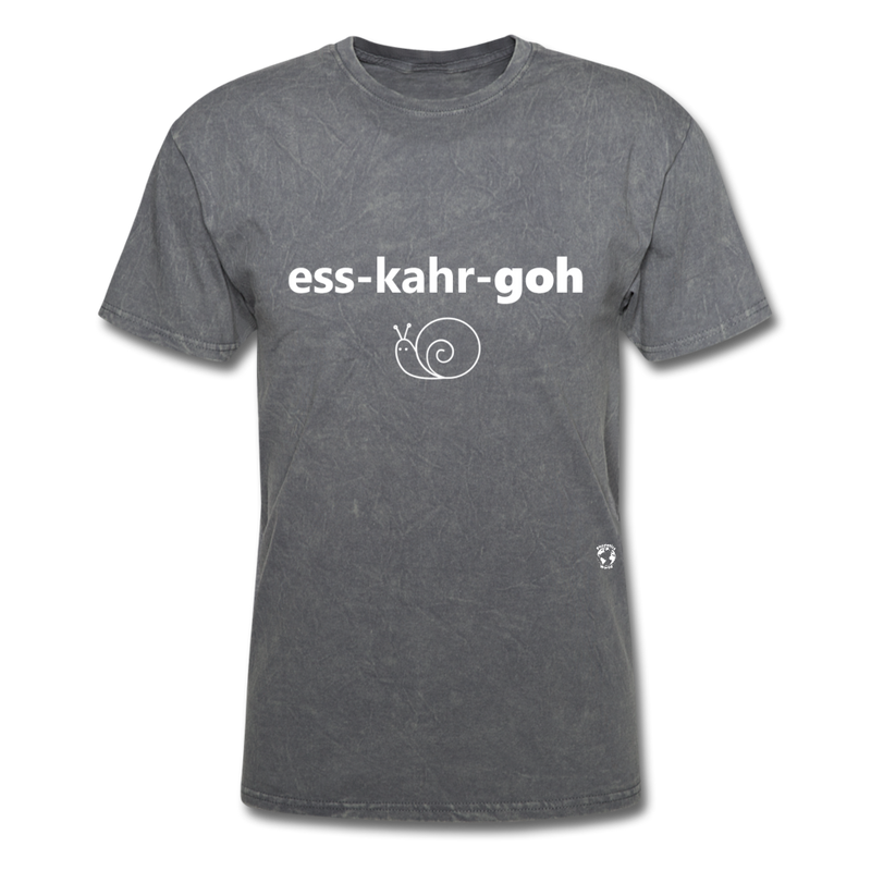 Escargot T-Shirt - mineral charcoal gray