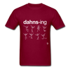 Dancing Shirt - burgundy