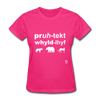 Protect Wildlife T-Shirt - fuchsia