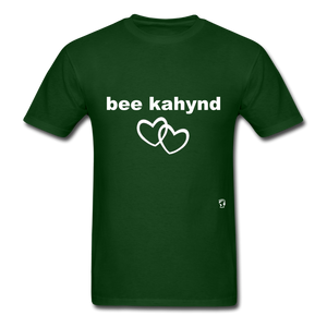 Be Kind T-Shirt - forest green
