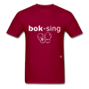 Boxing T-Shirt - dark red