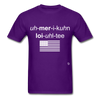American Loyalty T-Shirt - purple
