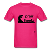 Prayer Heals T-Shirt - fuchsia