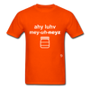 I Love Mayonnaise T-Shirt - orange