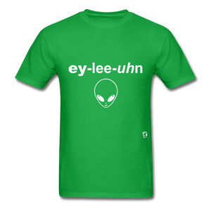 Alien T-Shirt - bright green