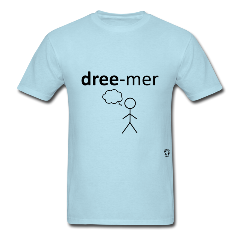 Dreamer T-Shirt - powder blue