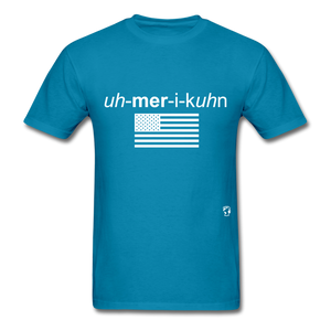 American T-Shirt - turquoise