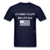 American Loyalty T-Shirt - navy
