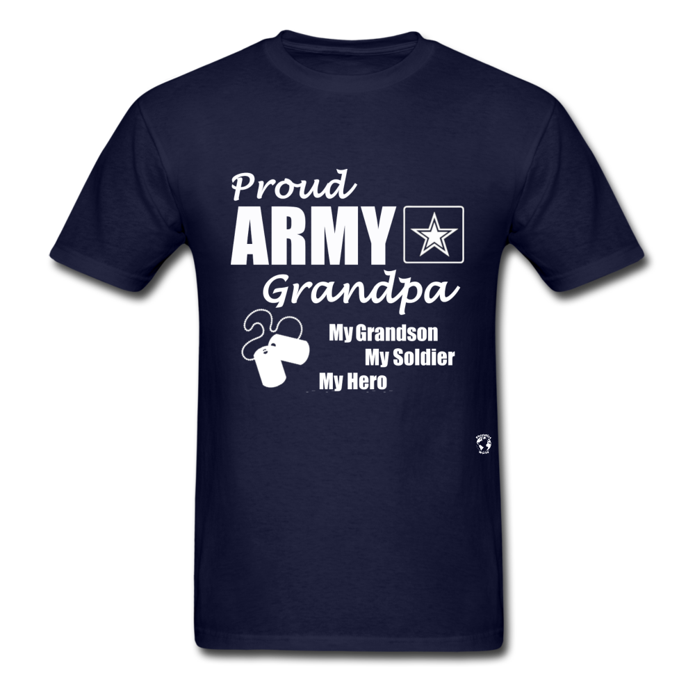 Army Grandpa T-Shirt - navy