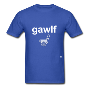 Golf T-Shirt - royal blue