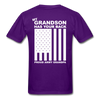 Army Grandpa T-Shirt - purple