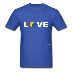 Love T-Shirt - royal blue