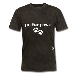 Prefer Paws T-Shirt - mineral black