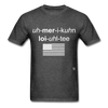 American Loyalty T-Shirt - heather black