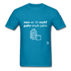 Never Enough Parmesan T-Shirt - turquoise