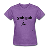 Yoga T-Shirt - purple heather