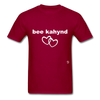 Be Kind T-Shirt - dark red