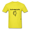 Courageous T-Shirt - yellow