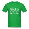 Tacos Every Day T-Shirt - bright green