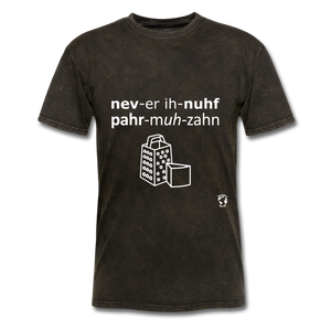 Never Enough Parmesan T-Shirt - mineral black