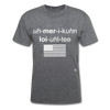 American Loyalty T-Shirt - mineral charcoal gray