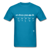 Enthusiastic T-Shirt - turquoise