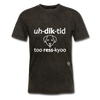Addicted to Dog Rescue T-Shirt - mineral black