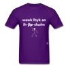 Walk Like an Egyptian T-Shirt - purple