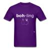 Bowling T-Shirt - purple