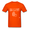 Never Enough Parmesan T-Shirt - orange