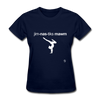 Gymnastic's Mom T-Shirt - navy