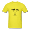 Hockey T-Shirt - yellow