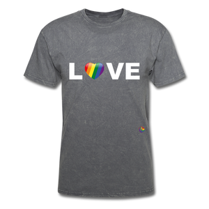 Love T-Shirt - mineral charcoal gray