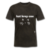 Cat Crazy T-Shirt - mineral black