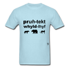 Protect Wildlife T-Shirt - powder blue