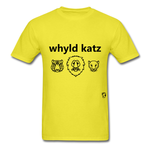 Wild Cats T-Shirt - yellow