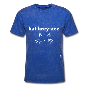 Cat Crazy T-Shirt - mineral royal