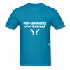Miracles Welcomed T-Shirt - turquoise