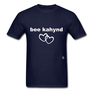 Be Kind T-Shirt - navy