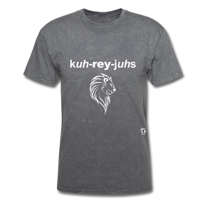 Courageous T-Shirt - mineral charcoal gray