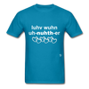 Love One Another T-Shirt - turquoise