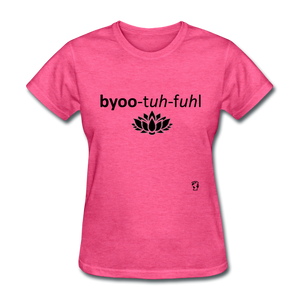 Beautiful T-Shirt - heather pink
