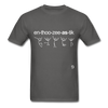 Enthusiastic T-Shirt - charcoal