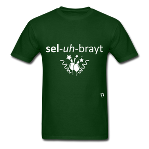 Celebrate T-Shirt - forest green