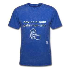 Never Enough Parmesan T-Shirt - mineral royal